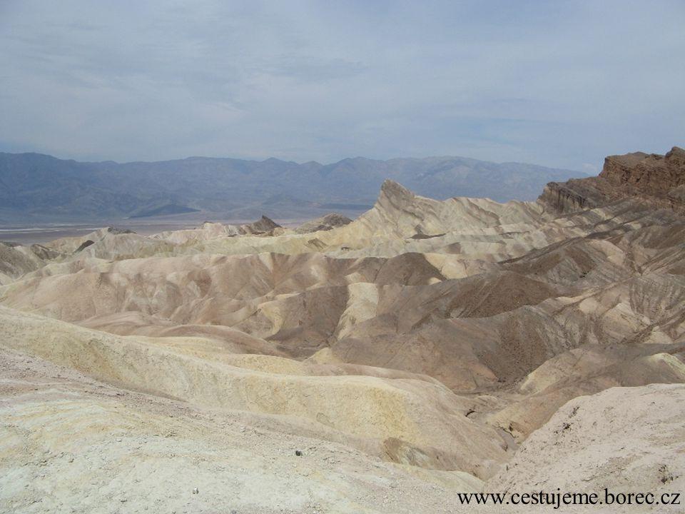 Pravé písečné duny v nejsušším místě USA