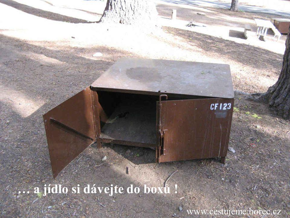 www.cestujeme.borec.cz … a jídlo si dávejte do boxů !
