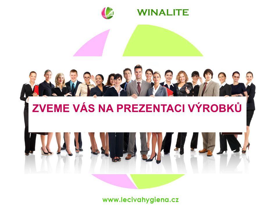 WINALITE www.lecivahygiena.cz ZVEME VÁS NA PREZENTACI VÝROBKŮ