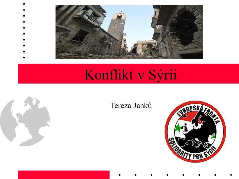 Aktuálně v Sýrii Rusko – pokračuje podpora Sýrie, nezřeklo se přátelství OSN – 2x veto Ruska a Číny, 27.