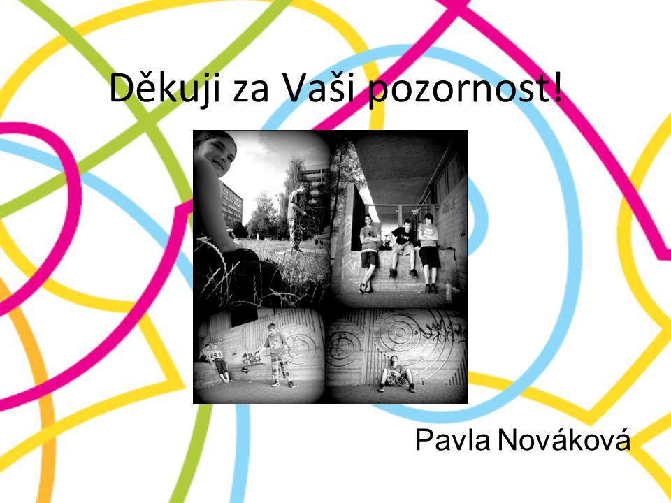 Děkuji za Vaši pozornost! Pavla Nováková