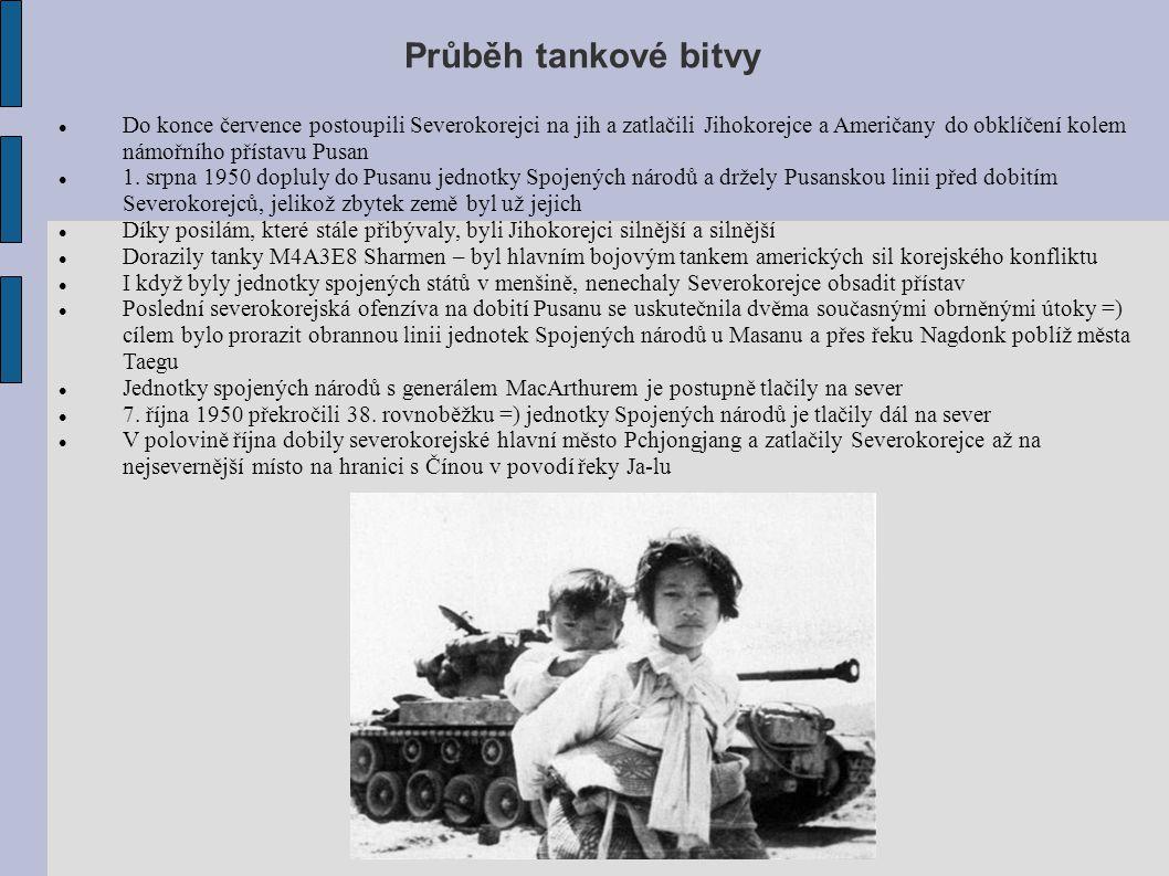 Vyvrcholení tankové bitvy 25.