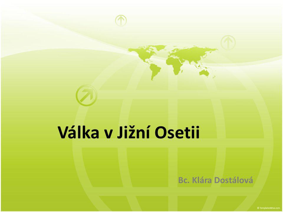Jižní Osetie - poloha Kavkaz je jedním z etnicky nejpestřejších regionů světa (střetává se zde křesťanství s islámem, etnické menšiny, jazyková různorodost) zdroj: wikipedia.org