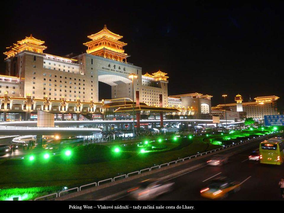 Lhasa – železniční stanice Lobby