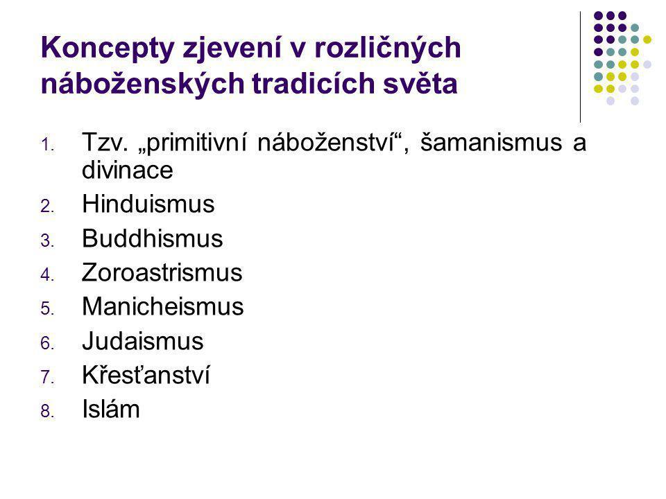 """""""Primitivní náboženství , šamanismus a divinace Tzv."""