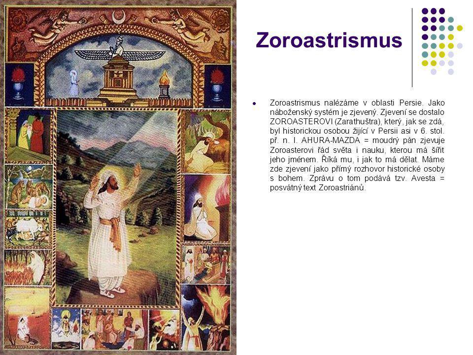 Manicheismus Manicheismus je náboženství čistě gnostické.
