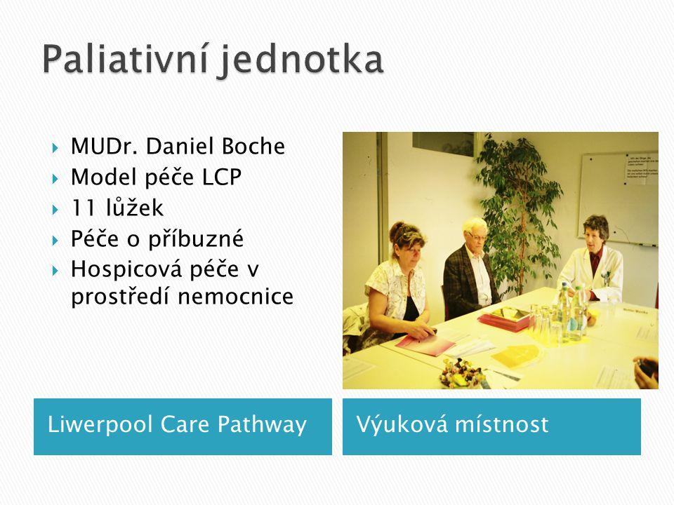 Liwerpool Care PathwayVýuková místnost  MUDr.