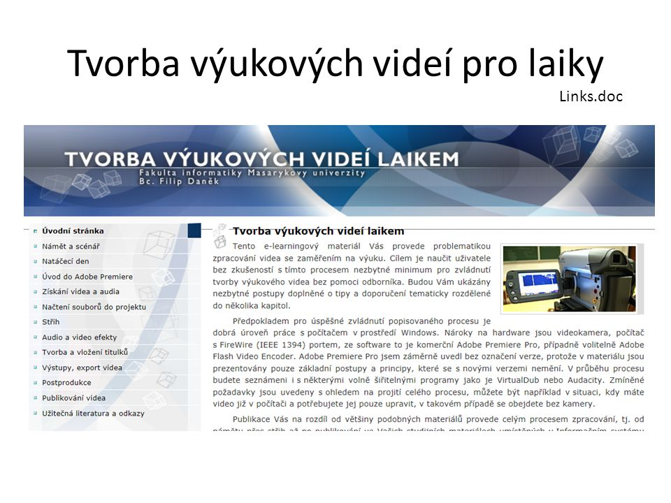 Tvorba výukových videí pro laiky Links.doc