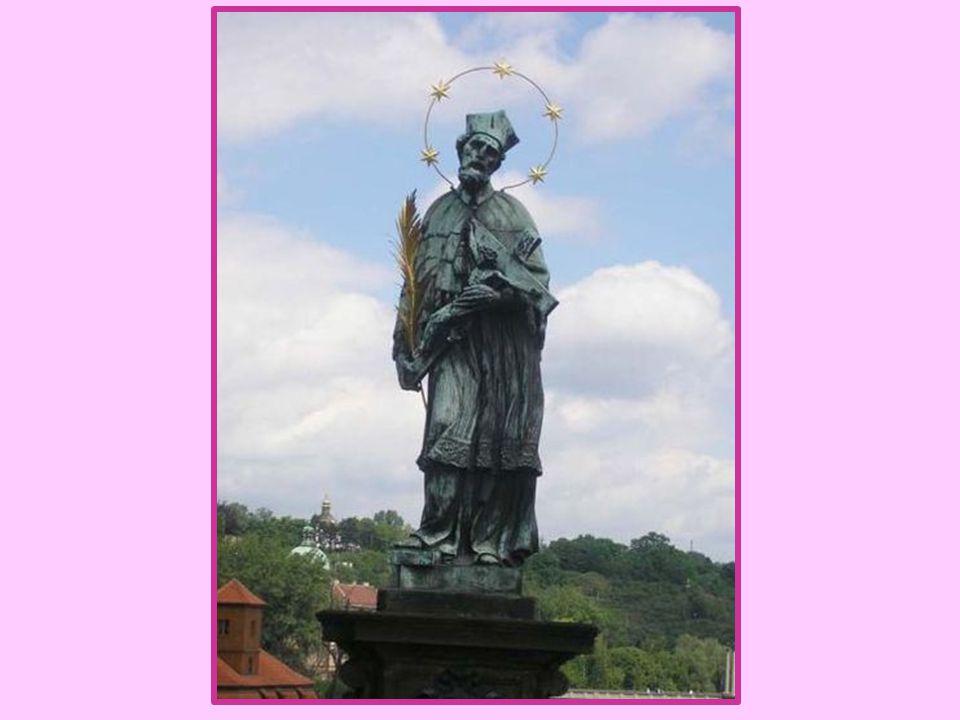 Svatý Jan Nepomucký nejuctívanější svatý v době baroka sochy svatého Jana Nepomuckého po celých Čechách – kostely, mosty, návsi