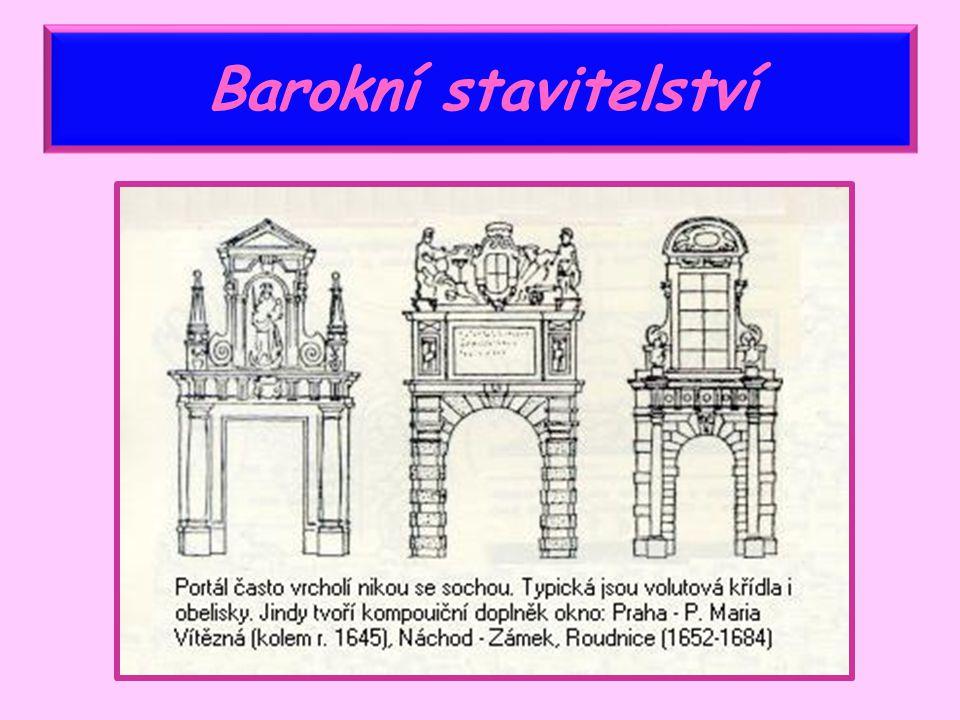 nový umělecký sloh – baroko – nahradil dřívější sloh - renesanci renesance – návrat k řecké a římské kultuře baroko – působí náboženskými tématy