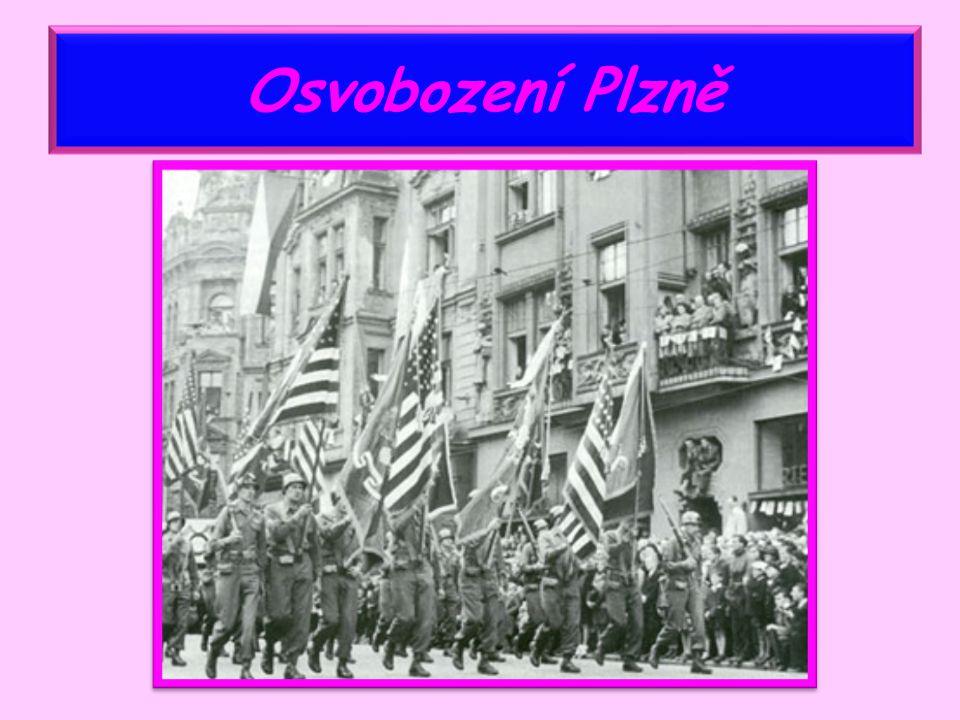 Osvobození Československa 5.května 1945 Pražské povstání 8.
