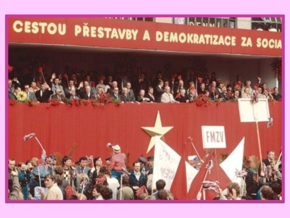 změna názvu státu – Československá socialistická republika – rok 1960 cenzura knih, novin, časopisů, filmů, divadla, rozhlasu a televize upravování uč