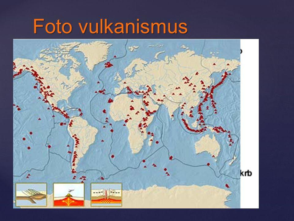 Foto vulkanismus