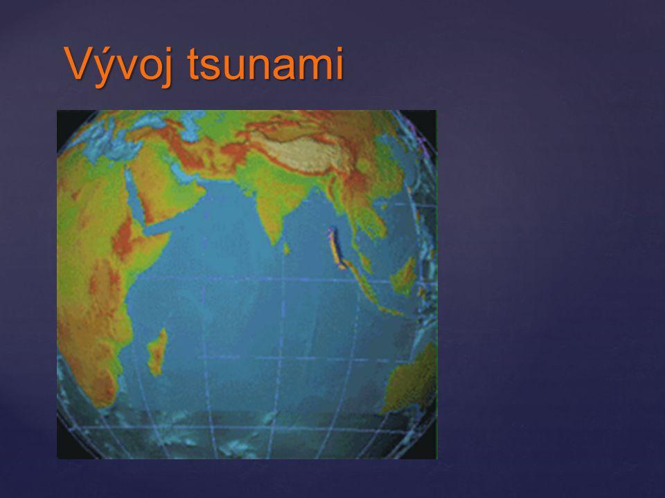 Vývoj tsunami