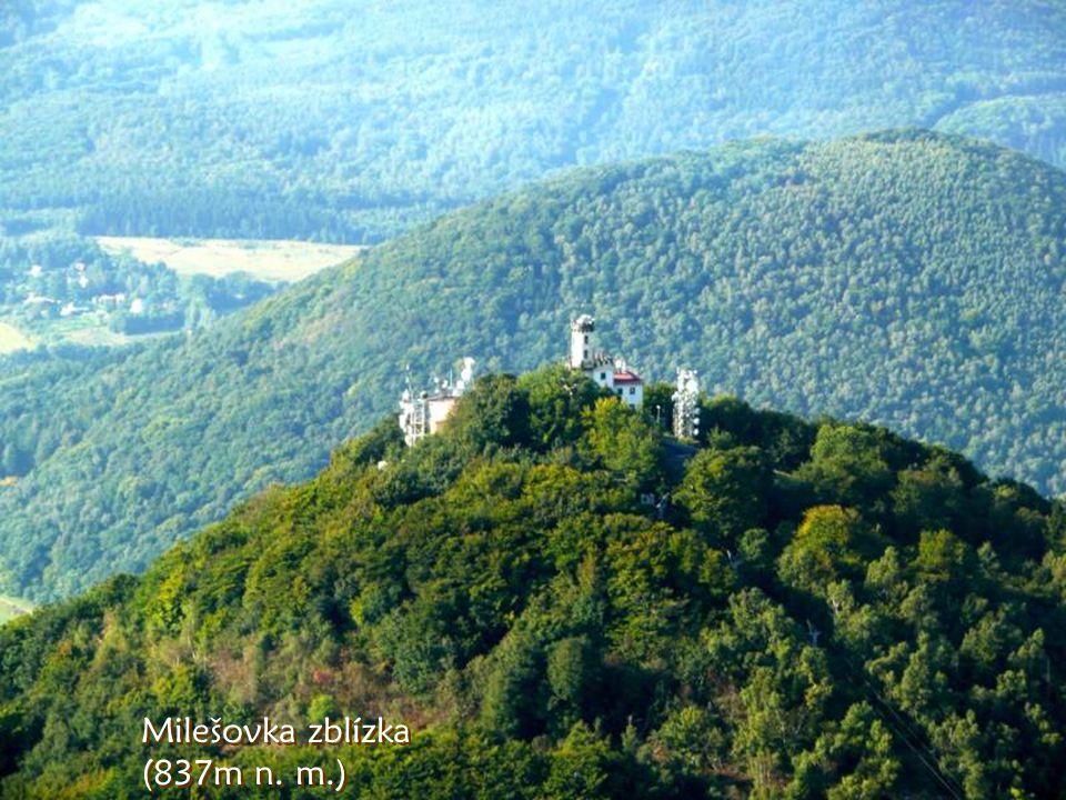 A to je Milešovka, největrnější hora Čech