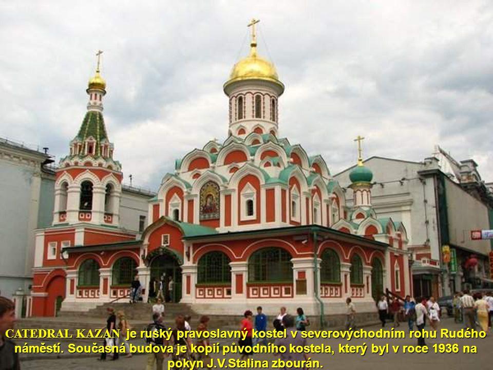 Moskva - mauzoleum V.I.