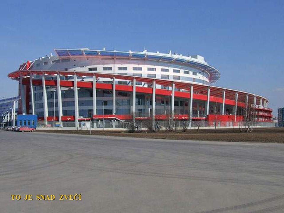 FOTBALOVÝ STADION LOKOMOTIVY MOSKVA