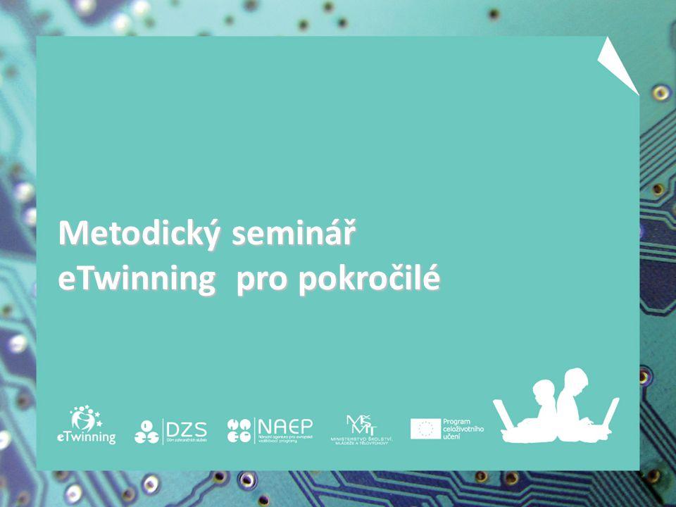 Metodický seminář eTwinning pro pokročilé