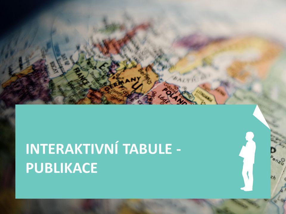 INTERAKTIVNÍ TABULE - PUBLIKACE