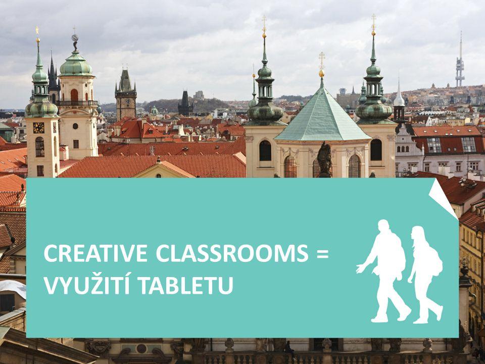 CREATIVE CLASSROOMS = VYUŽITÍ TABLETU