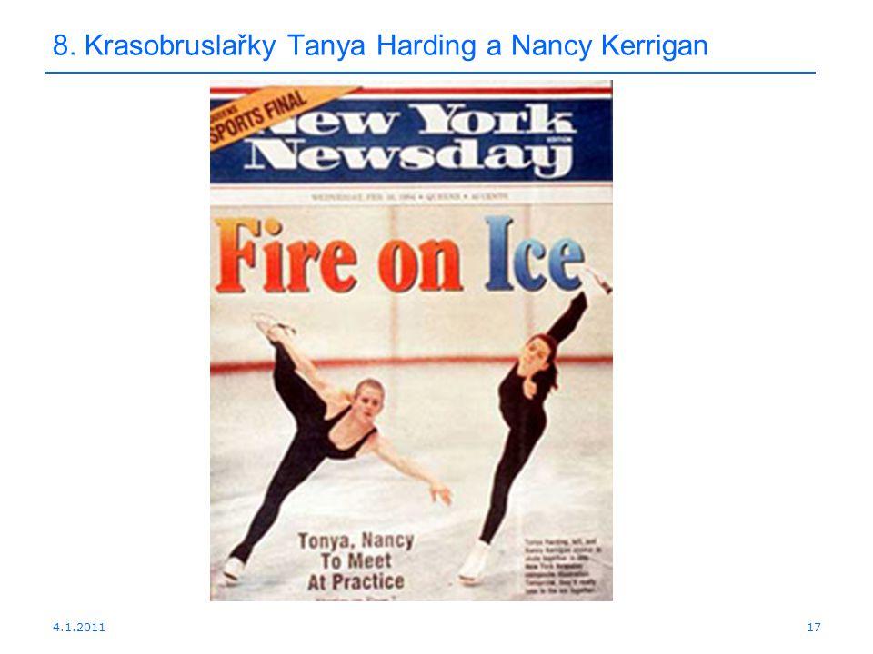 4.1.201117 8. Krasobruslařky Tanya Harding a Nancy Kerrigan