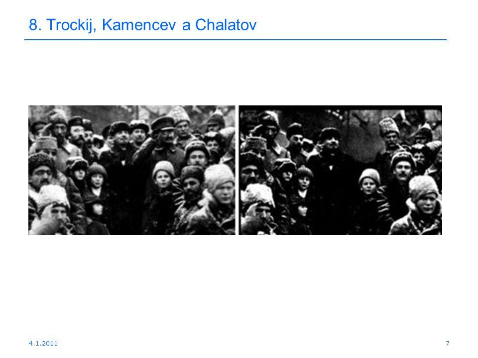4.1.20117 8. Trockij, Kamencev a Chalatov