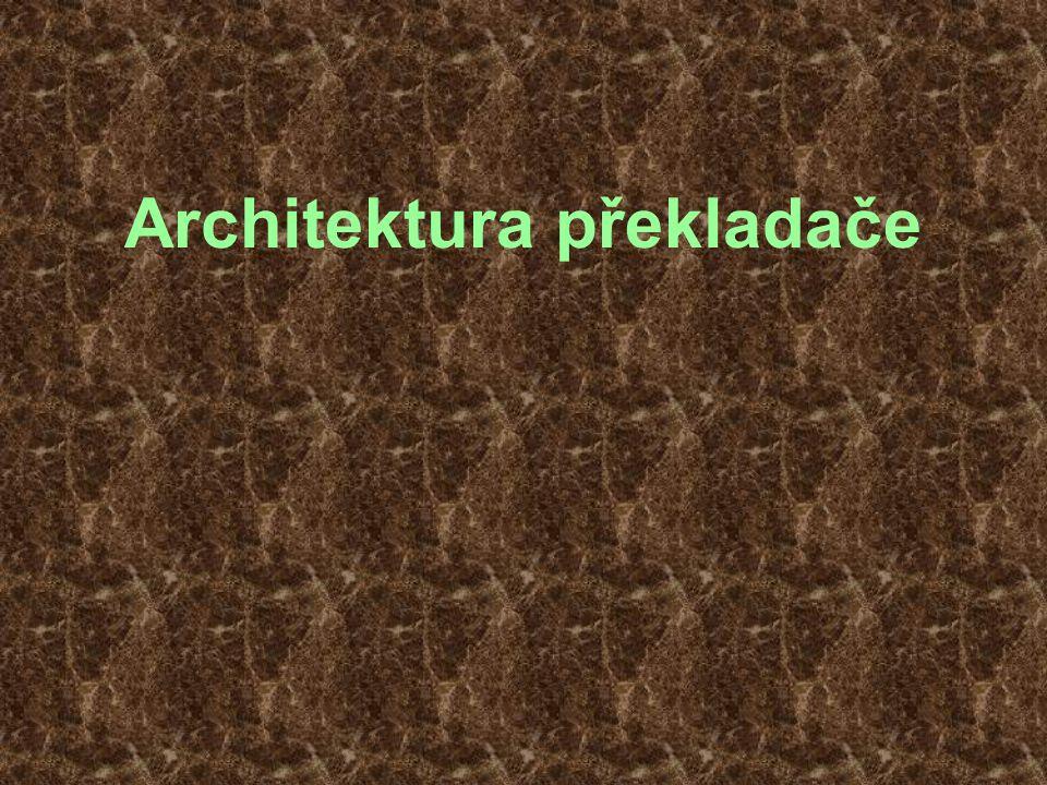 57 Architektura back-endu  Částečně sekvenční mezikód bez schedulingu Optimalizace Alokace registrů Optimalizace Instruction selection = Výběr instrukcí Finalizer Detekce základních bloků Live-range analysis = Analýza rozsahů platnosti Basic-block (re)ordering = Serializace control-flow Sekvenční mezikód (střední úrovně) Částečně sekvenční mezikód (střední úrovně) Částečně sekvenční mezikód nízké úrovně s virtuálními registry Částečně sekvenční mezikód nízké úrovně s fyzickými registry Sekvenční mezikód nízké úrovně s fyzickými registry Strojový kód Analýza aliasů Optimalizace
