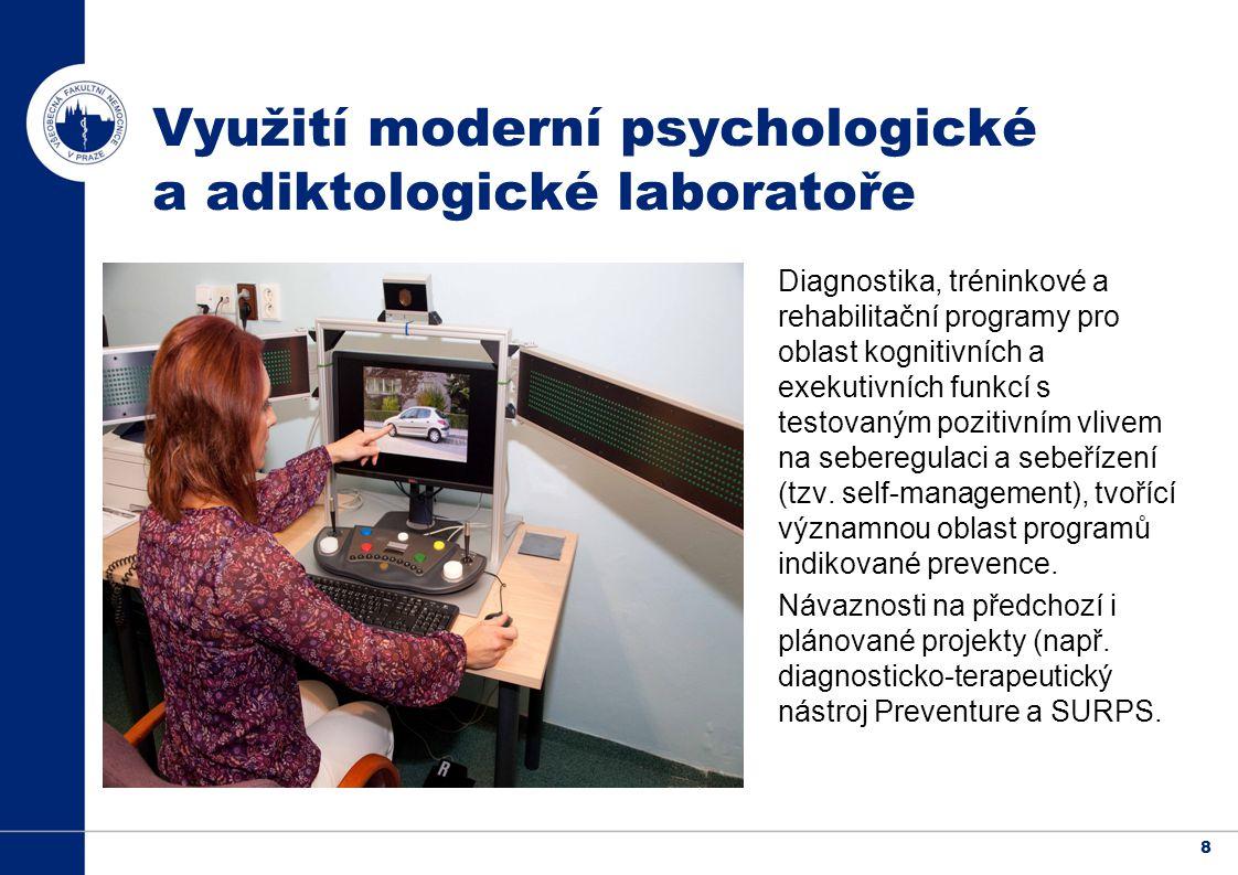 8 Diagnostika, tréninkové a rehabilitační programy pro oblast kognitivních a exekutivních funkcí s testovaným pozitivním vlivem na seberegulaci a sebeřízení (tzv.