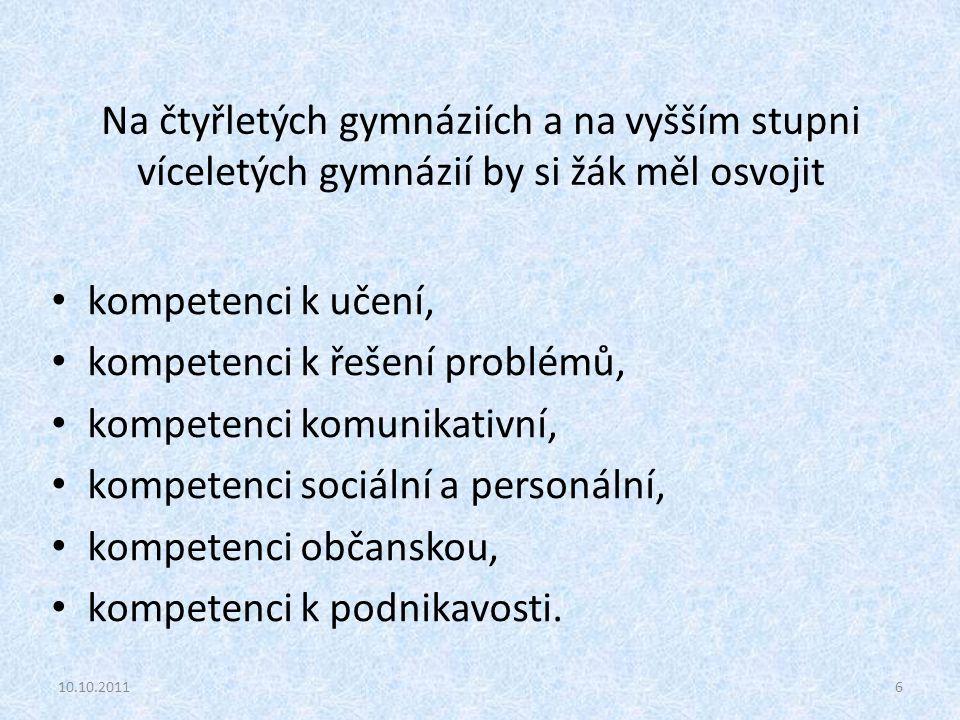 Vzdělávací cíle ↔ výsledky vzdělávání (žáka) Kognitivní znalosti (vědomosti) (poznávací) intelektové dovednosti Psychomotorické psychomot.
