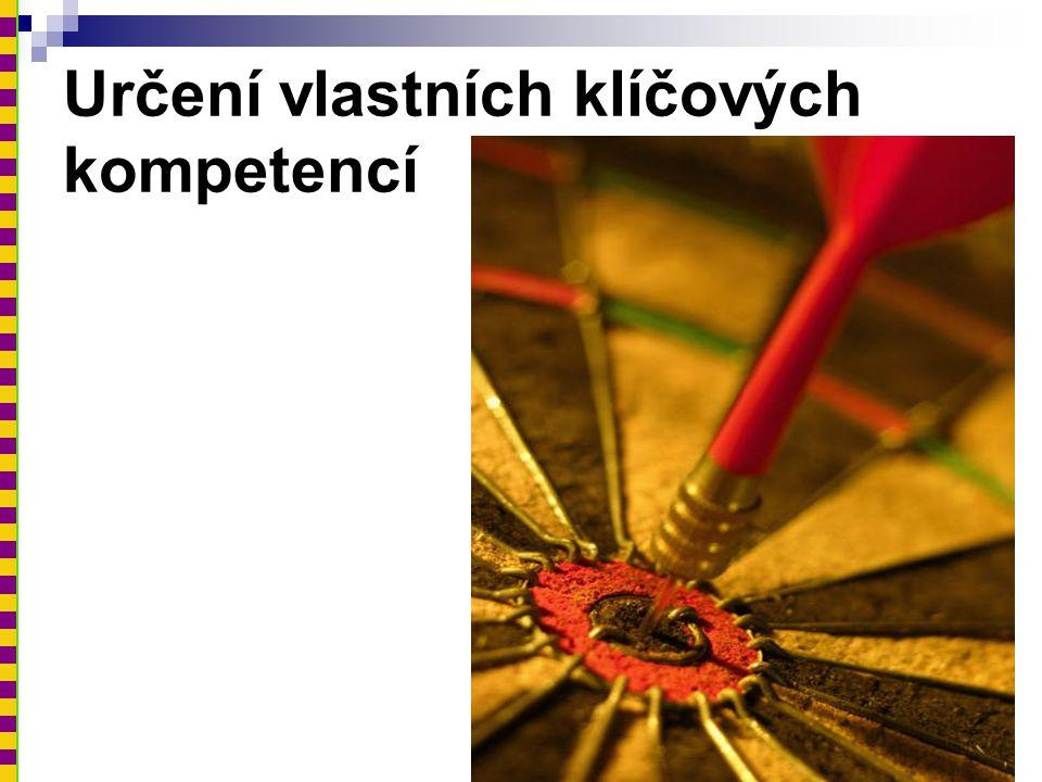 Určení vlastních klíčových kompetencí