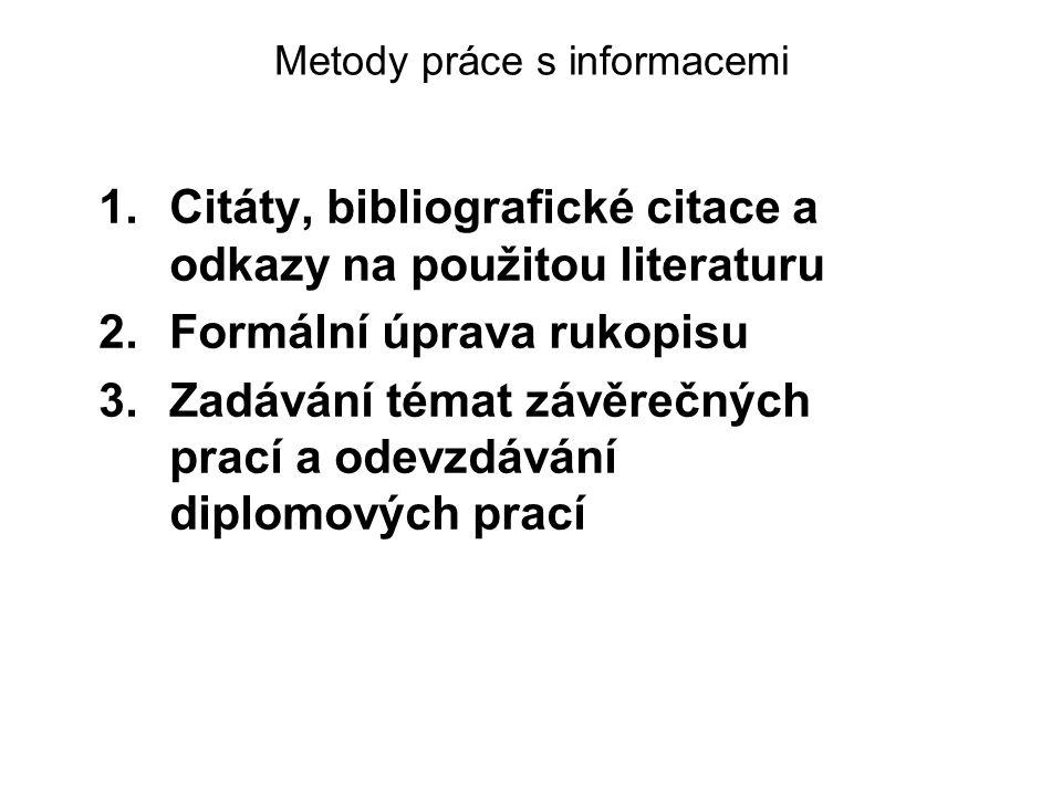 Plagiarismus Plagiarismus je každý případ, kdy se osoba vědomě, ať už přímo či nepřímo, za jakýmkoliv účelem, uchýlí k publikované či nepublikované práci někoho jiného s cílem prohlašovat ji za svoji vlastní