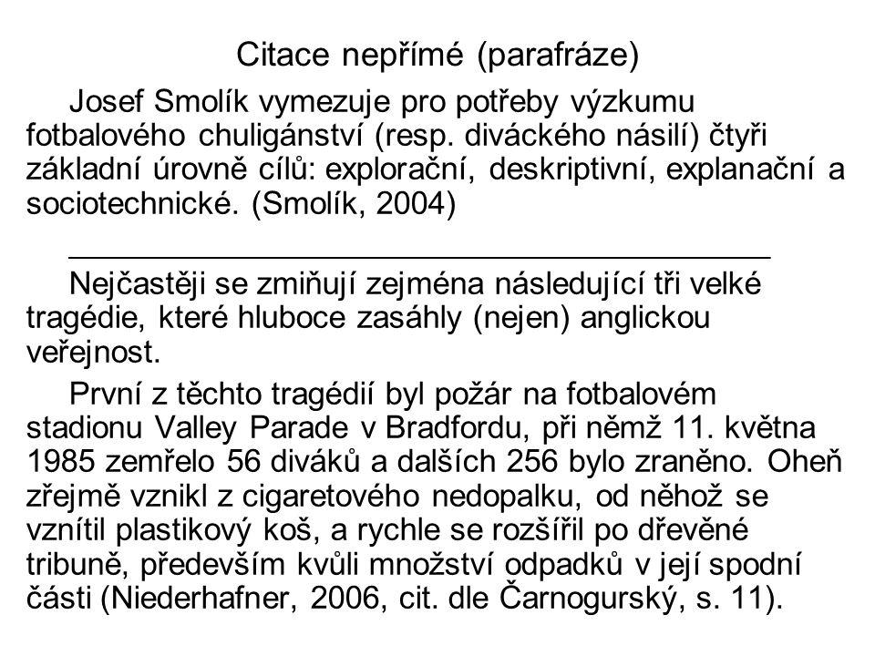 Členění textu a označování jeho částí kapitoly: arabskými číslicemi 1 Psací stroje 1.1 Rozdělení 1.1.1 Podle pohonu 1.1.1.1 Ruční 1.1.1.2 Elektrické 2 Rozmnožovací stroje