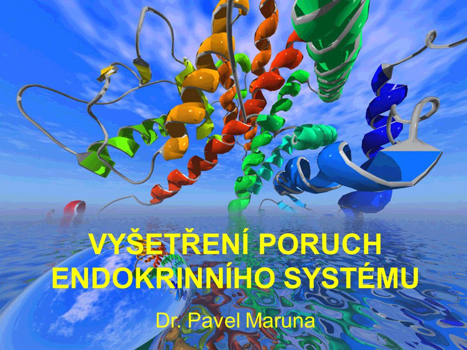 2 Základní pojmy Endokrinní systém Jeden z hlavních systémů mezibuněčné komunikace, kontroly a koordinace.