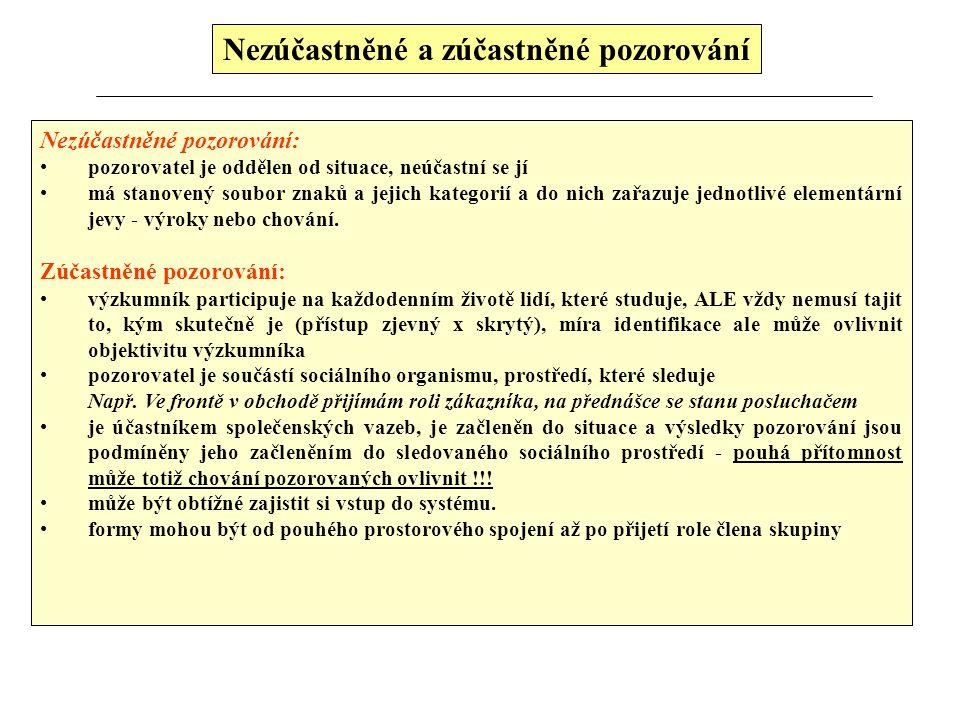 Studium dokumentů Pokud jde o základní třídění těchto dokumentů, rozeznáváme: 1.osobní dokumenty 2.úřední dokumenty 3.mediální materiály 1.