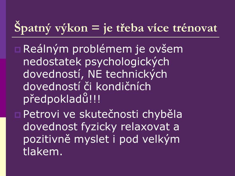 Proč je psychologická příprava důležitá.