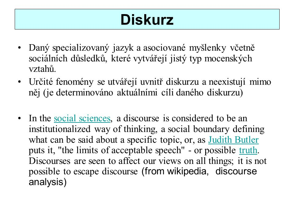 History (wikipedia, DA) The term discourse analysis first entered general use as the title of a paper published by Zellig Harris in 1952, although that paper did not yet offer a systematic analysis of linguistic structures beyond the sentence level .Zellig Harris1952 As a new cross-discipline, DA began to develop in the late 1960s and 1970s in most of the humanities and social sciences, more or less at the same time, and in relation with, other new (inter- or sub-) disciplines, such as semiotics, psycholinguistics, sociolinguistics, and pragmatics.semioticspsycholinguisticssociolinguisticspragmatics Whereas earlier studies of discourse, for instance in text linguistics, often focused on the abstract structures of (written) texts,text linguisticstexts many contemporary approaches, especially those influenced by the social sciences, favor a more dynamic study of (spoken, oral) talk-in-interaction.