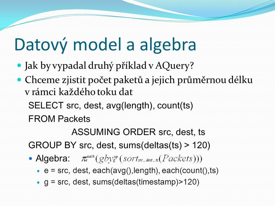 Jak by vypadal druhý příklad v AQuery.