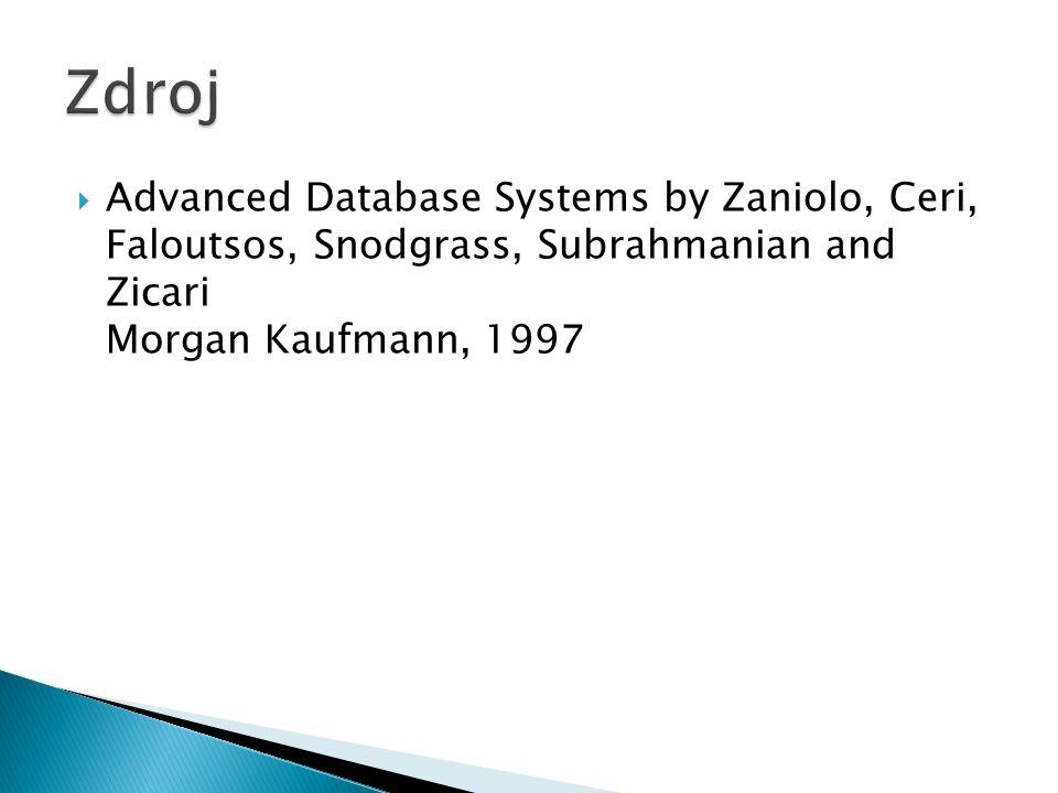  Aktivní pravidla jsou mocný nástroj, který výrazně rozšiřuje možnosti databázového systému.