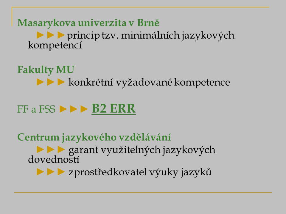 Masarykova univerzita v Brně ►►►princip tzv.