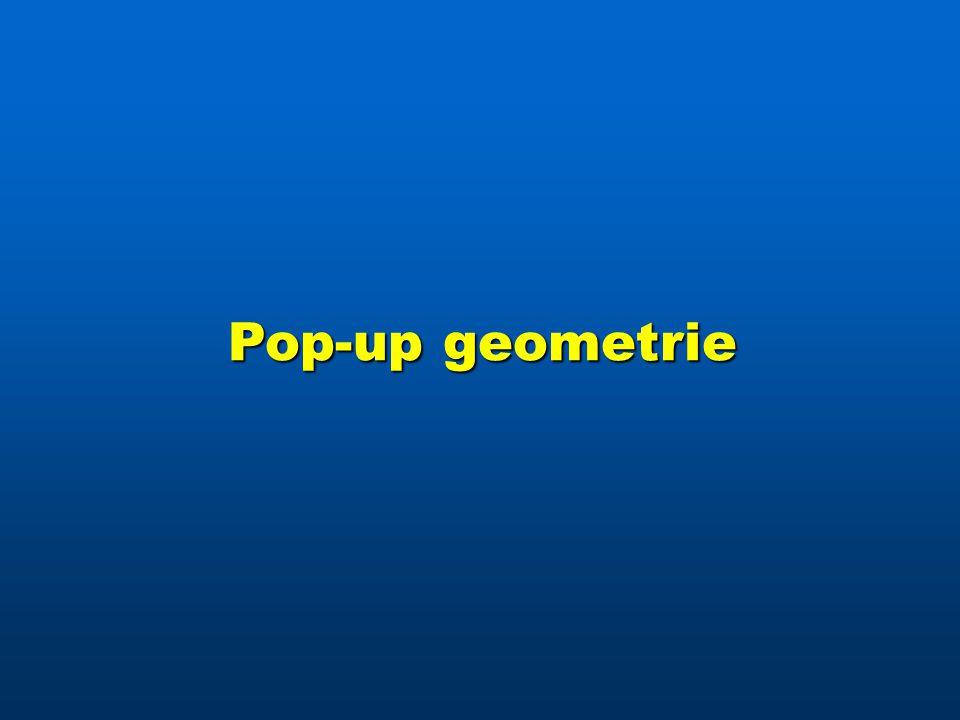 Pop-up geometrie