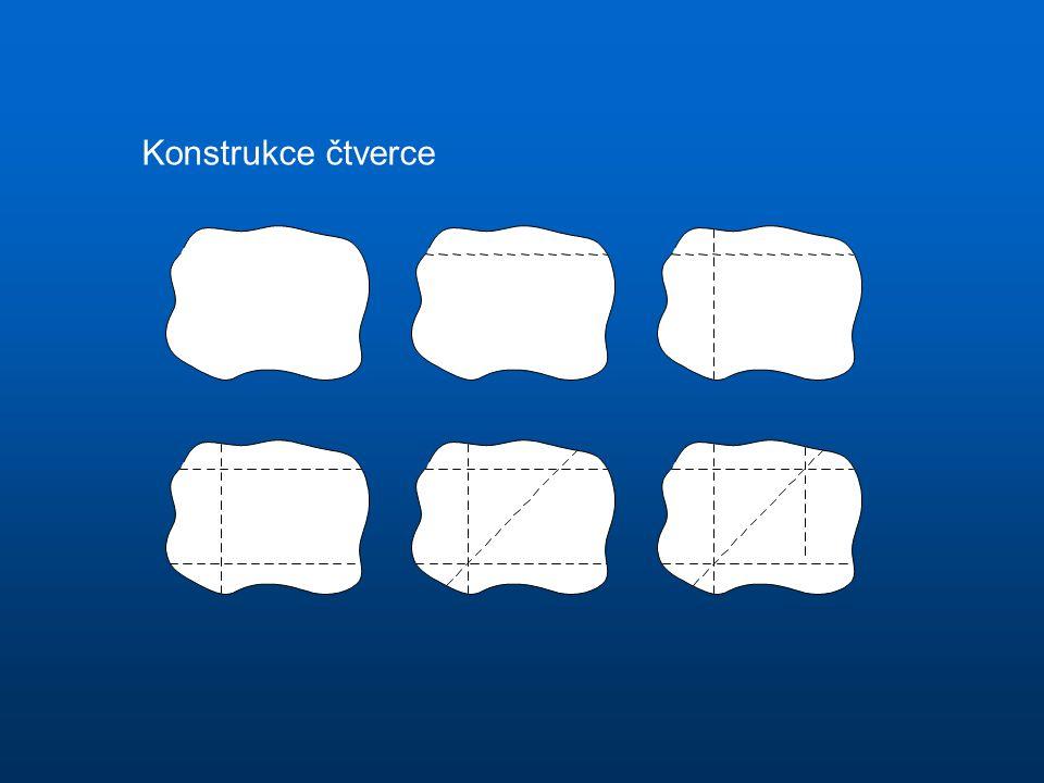 Konstrukce čtverce