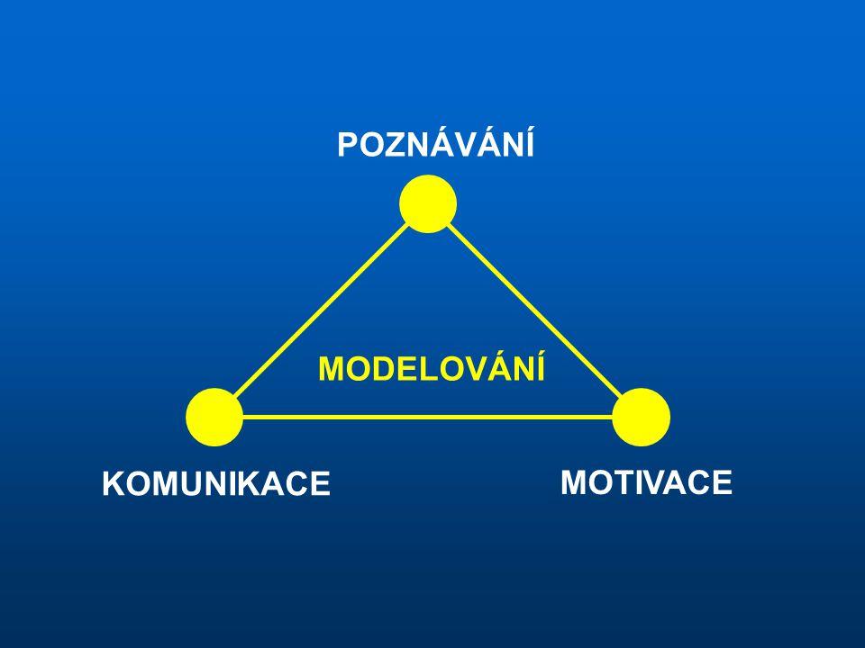 MODELOVÁNÍ POZNÁVÁNÍ KOMUNIKACE MOTIVACE