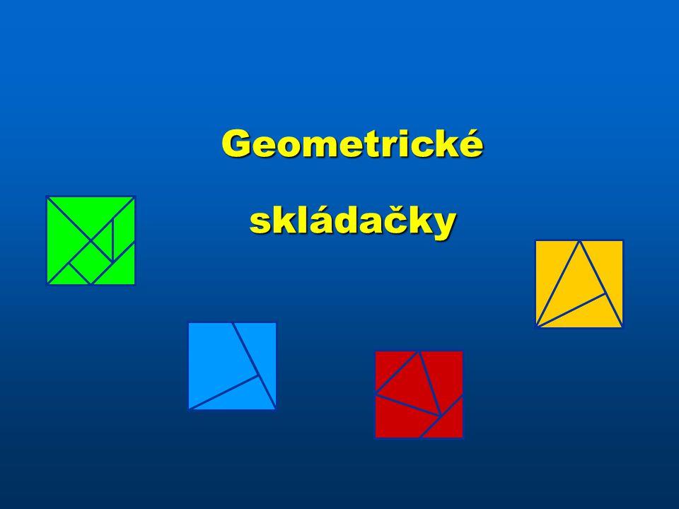 Geometrickéskládačky