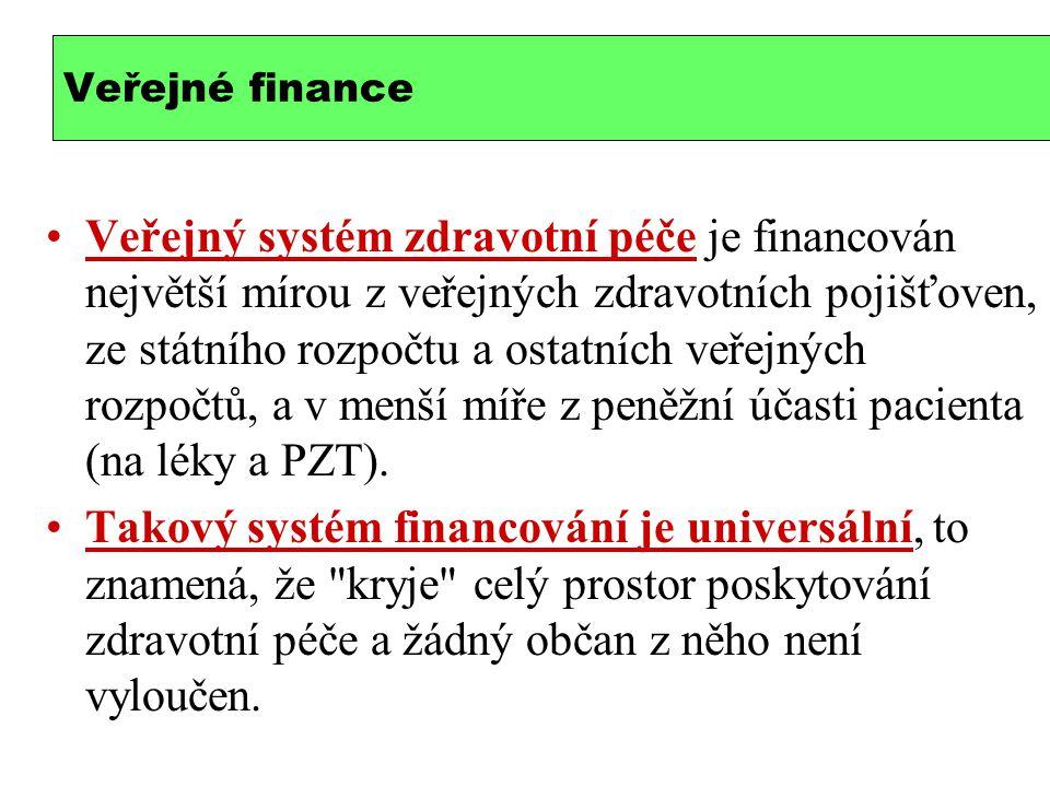 Je systém financování progresivní (vertikálně spravedlivý).