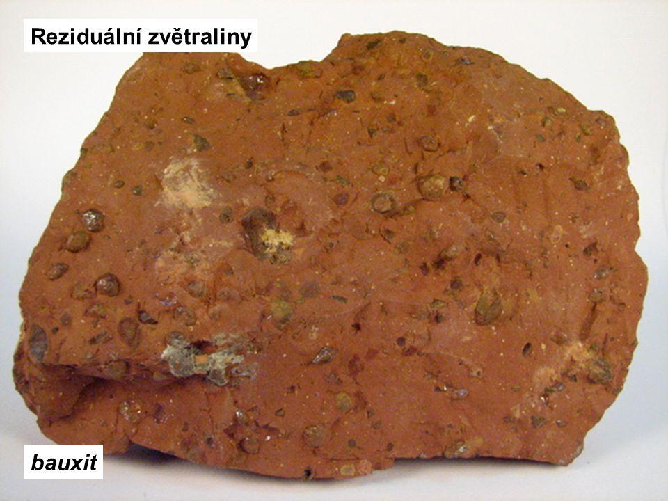 Reziduální zvětraliny bauxit
