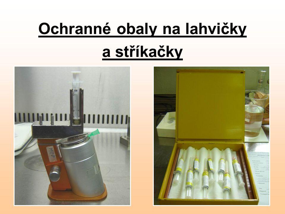 Ochranné obaly na lahvičky a stříkačky