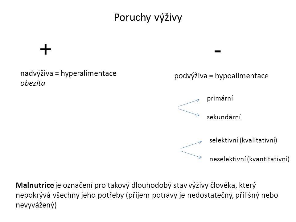 Crohnova choroba (ileitis terminalis, enteritis regionalis) chronický zánětový proces postihující převážně tenké střevo granulomatózní zánět postihuje všechny vrstvy GIT → fisury, vředy, píštěle okrsky postižené sliznize střídají okrsky intaktní etiopatogeneze: faktory genetické (výskyt v rodinnách) faktory imunologické ( nerovnováha mezi střevním imunitním systémem a střevní mikroflórou, slizniční CD4 lymfocyty indukují zánět) faktory infekční vlivy vnějšího prostředí projevy: vleklé průjmy, bolesti břicha, subfebrilie, ztráta výkonnosti, únavnost, zevní i vnitřní píštěle, často extraintestinální příznaky (klouby, kůže, oko) Ulcerózní kolitida (idiopatická proktokolitida) nespecifický, hemoragicko-katarální zánět postihující sliznici konečníku (přilehlé části kolon), superficiální postižení etiopatogeneze: podobná CN projevy: průjmovité, krvavé stolice promísené s hlenem nebo hnisem vyšší riziko kancerogeneze