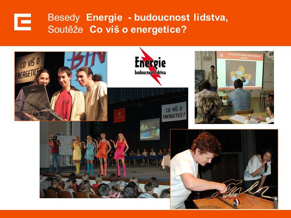 Besedy Energie - budoucnost lidstva, Soutěže Co víš o energetice?