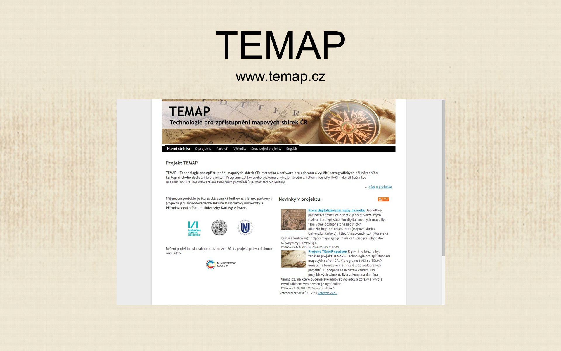 TEMAP www.temap.cz