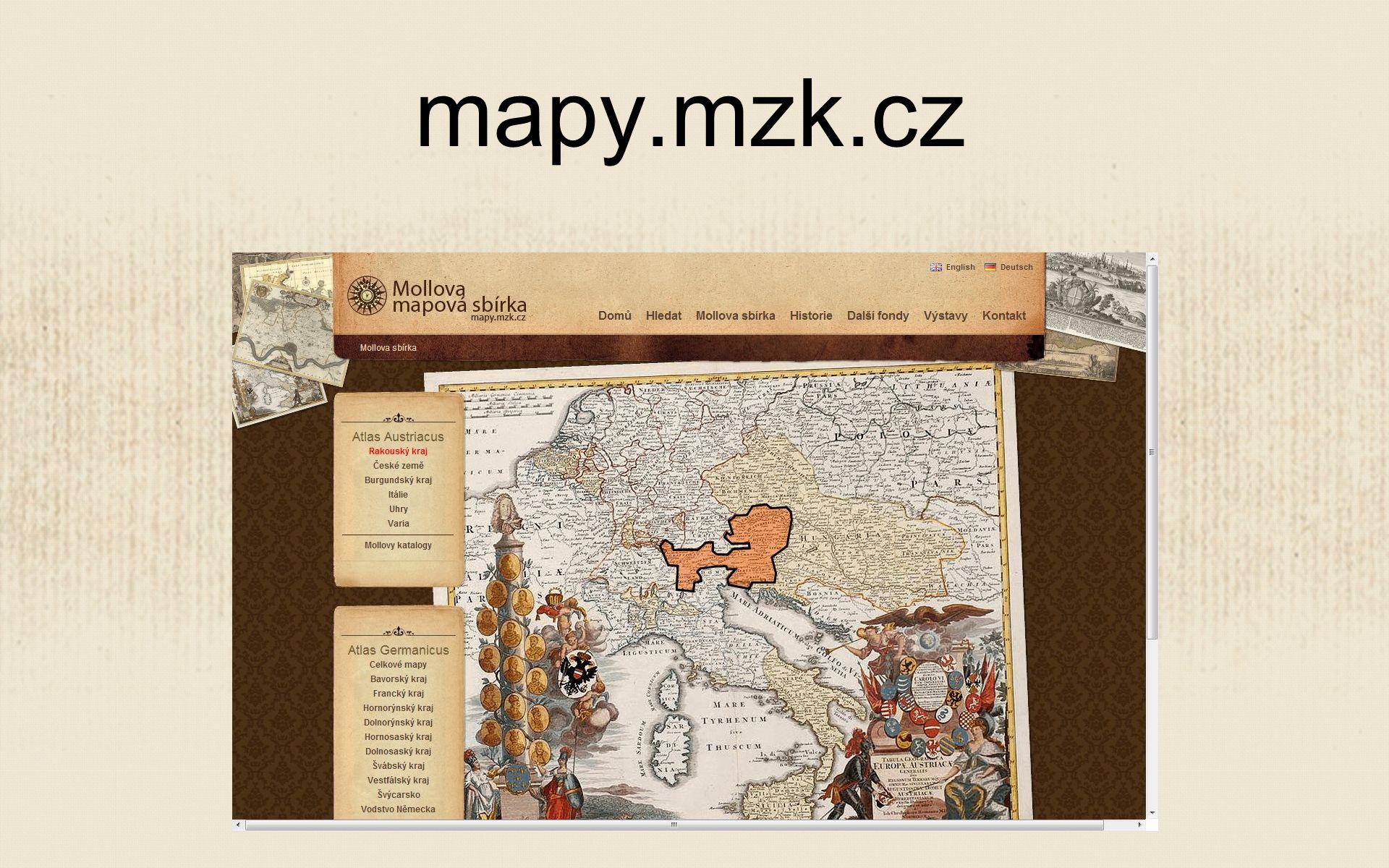 mapy.mzk.cz